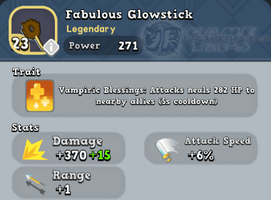 World of Legends Fabulous Glowstick