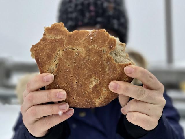 Schüttelbrot - chléb s fenyklovými semínky - Trentino, Itálie