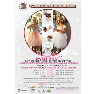 Lomba Fotografi Surabaya 2016 - Masterr Singapore Ice Cream