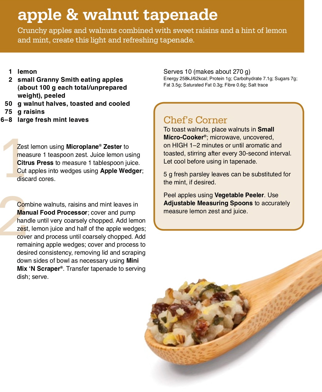 Delicious Apple Walnut Tapenade Recipe Delicious Food And