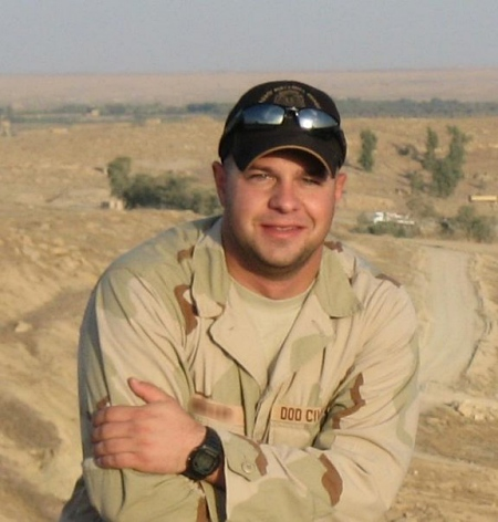 Nathan in Iraq
