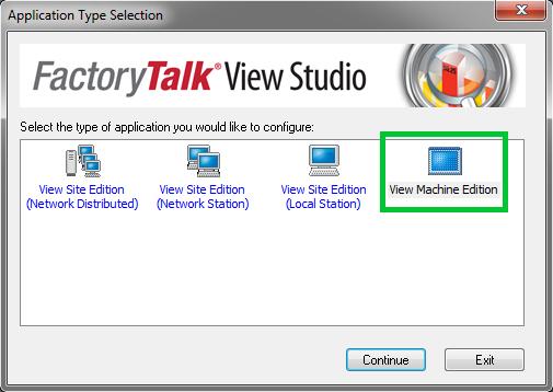 1. Crear un proyecto para HMI y comunicar con proyecto de PLC en Studio 5000 - Programación en FactoryTalk View Studio - Machine Edition - Tutorial básico