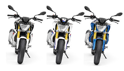 BMW G310R three shads colour front view