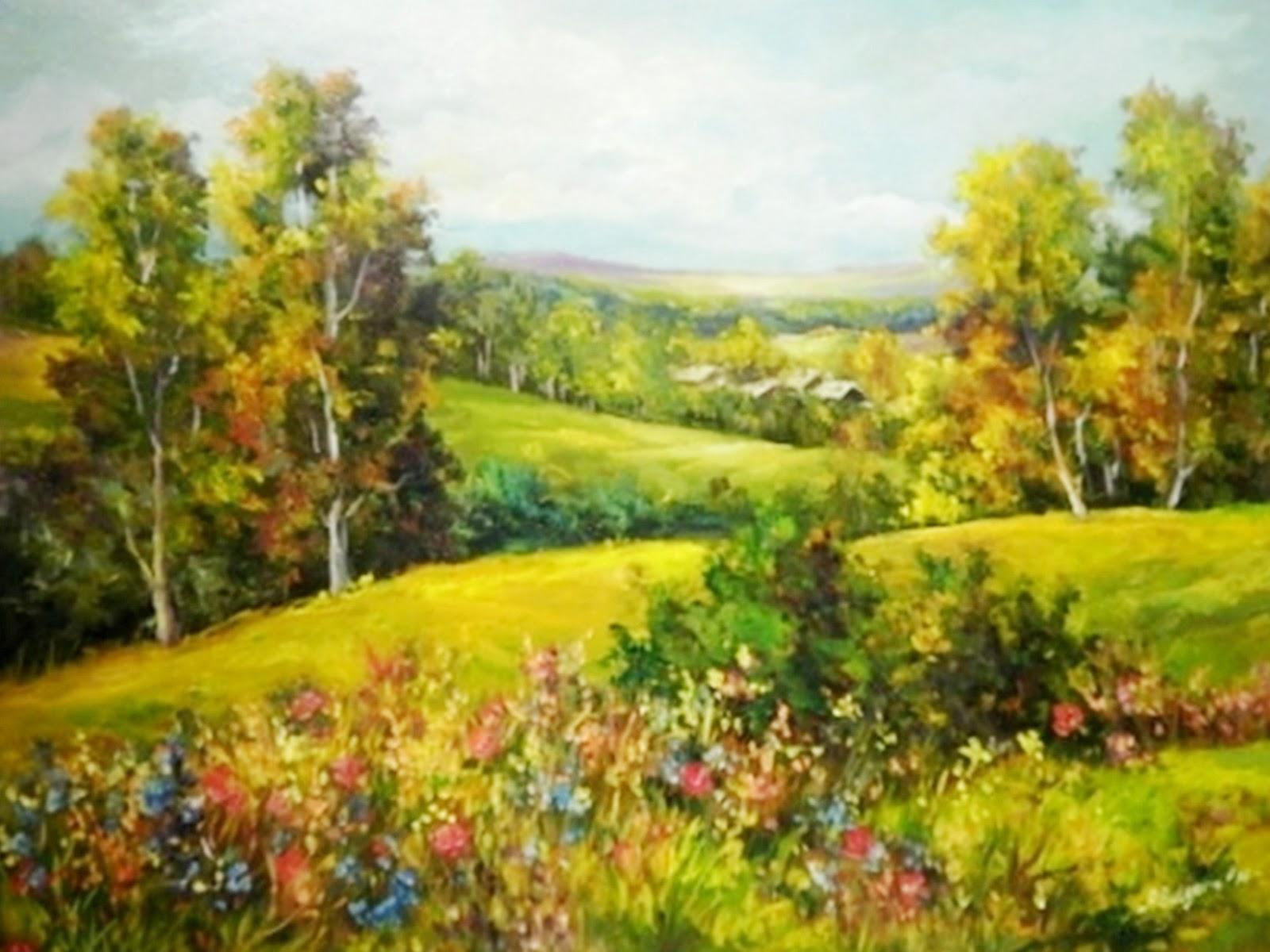 cuadros modernos pinturas y dibujos cuadros paisajes