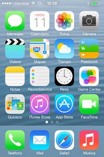 iphone 4sでios 7をインストール