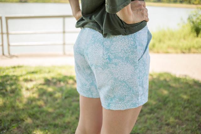 Women's Chino Shorts PDF Sewing Pattern