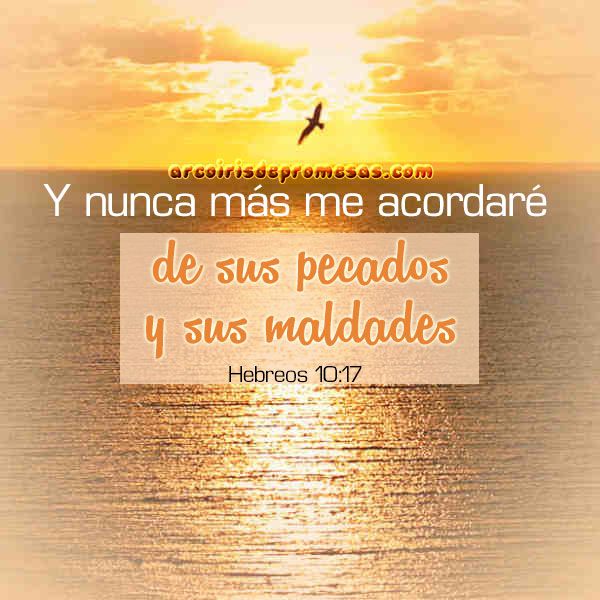 dios perdona con amor verdadero mensajes cristianos con imágenes arcoiris de promesas