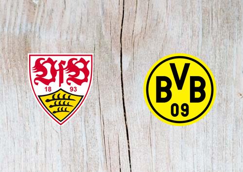 Stuttgart vs Borussia Dortmund Full Match & Highlights 20 October 2018