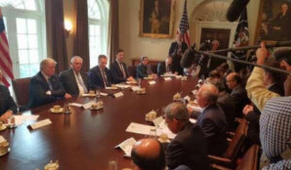 Video: Presiden Amerika Donald Trump Sambut PM Najib
