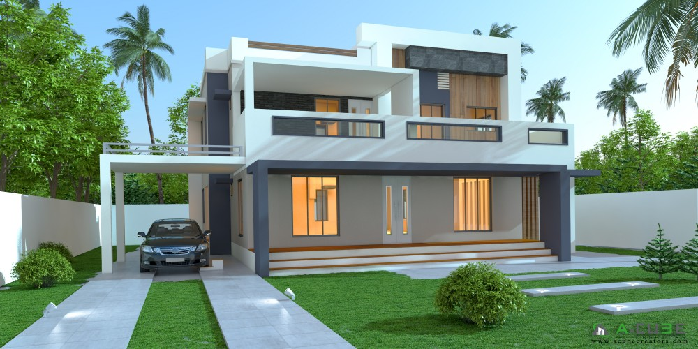 Beautiful Contemporary House 2383 Sqft