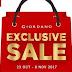 Exclusive Sale menarik dari Giordano
