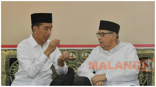 Presiden Jokowi Diskusi Soal Islam Moderat Dengan Quraish Shihab