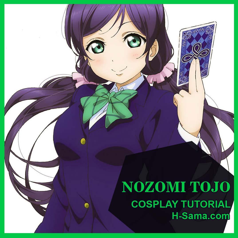 Hsamablog Como Fazer Cosplay Nozomi Tojo Love Live Uniforme