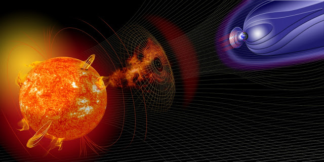 moderately strong geomagnetic storm strikes earth