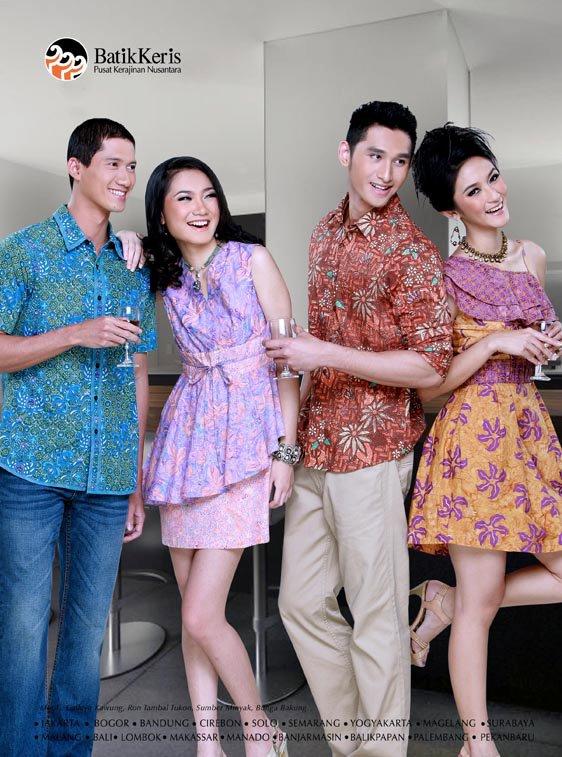 Mode adalah Fashion  Batik Day Worldwide Falls Every 2