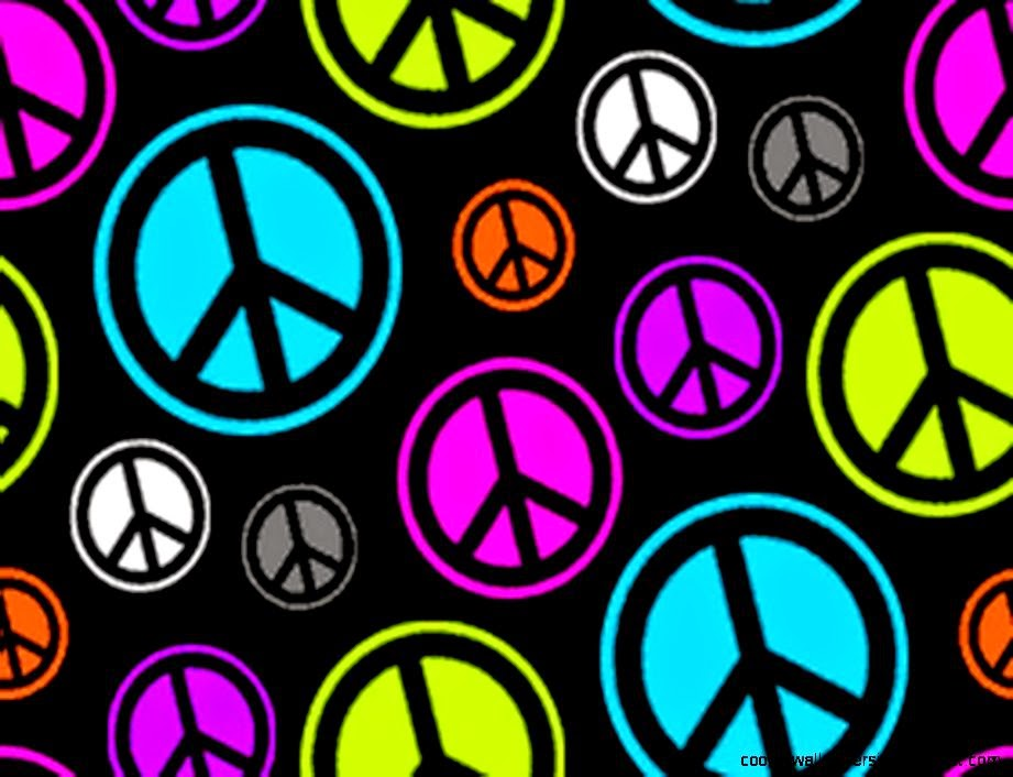 Zebra Peace Sign Wallpaper images