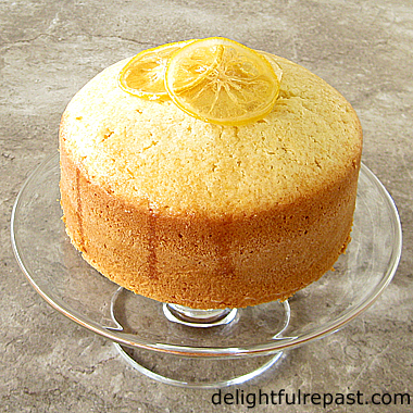 Madeira Cake - A British Classic / www.delightfulrepast.com