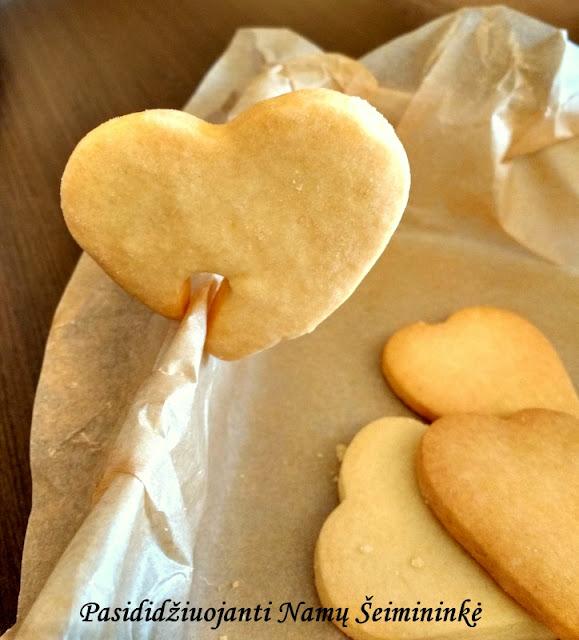 RECEPTAS: Sausainiai su ryžių miltais