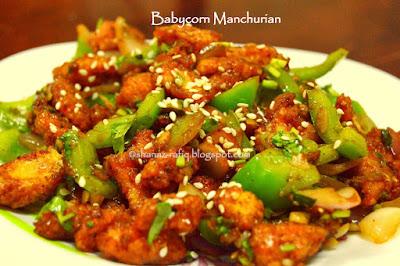 Babycorn Manchurian