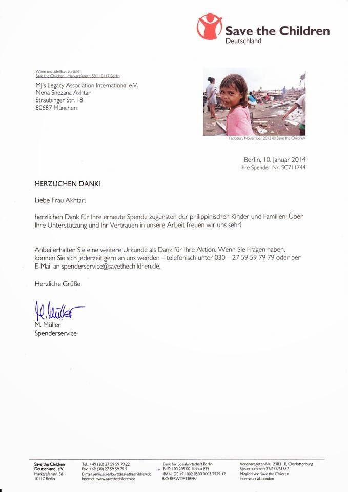 Frohe Weihnachten Philippinisch.Mj S Legacy E V Verein Zur Förderung Und Zum Erhalt Des Andenkens