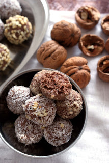 trufle czekoladowe z twarogu