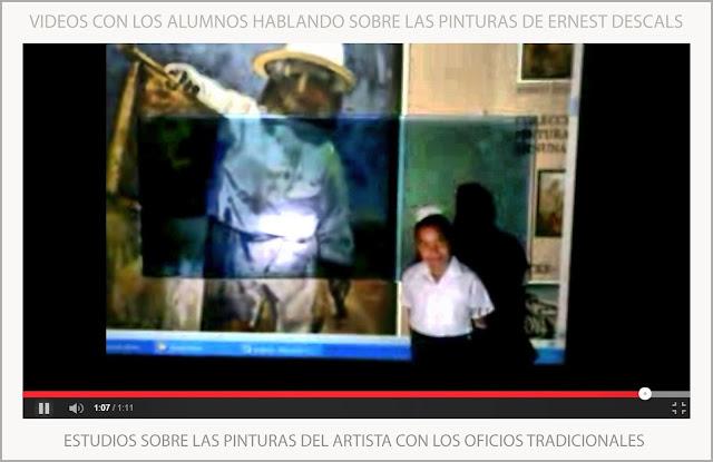 VIDEOS-PINTURA-ARTE-PINTURAS-OFICIOS-TRADICIONALES-ESTUDIOS-ALUMNOS-ARTISTA-PINTOR-ERNEST DESCALS