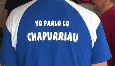 Gramática, ortografía, Chapurriau