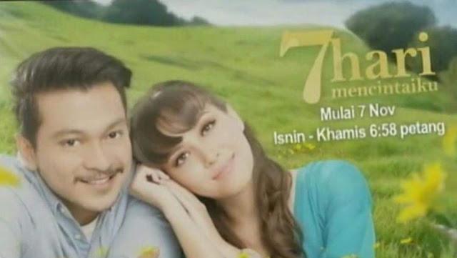 Drama 7 Hari Mencintaiku Bakal Ditayangkan 07 November 2016 - Akan Datang  Di Slot Akasia
