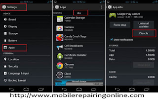 Disable System Apps Android Os Versions