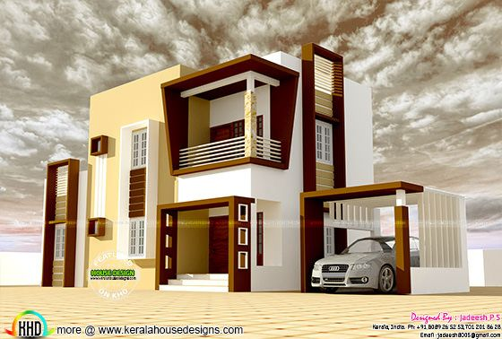 Cost ₹19 lakhs modern house plan