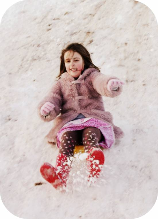 Fun In The Snow: Wordless Wednesday Linky