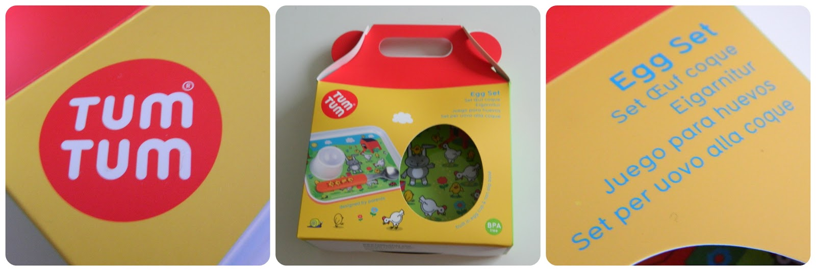 TUMTUM Trainee Egg Set Review #BumpJudges