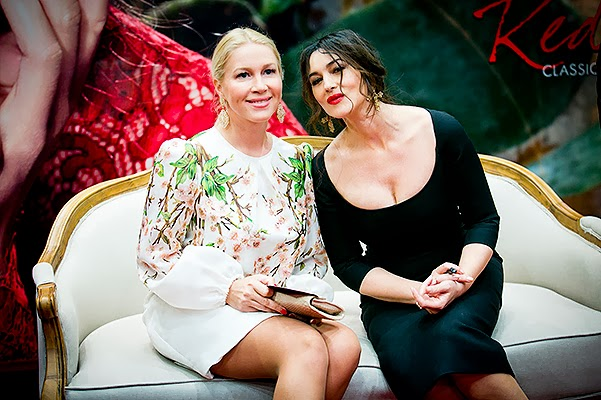 Ekaterina Odintsov and Monica Bellucci