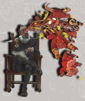 'Miguel En Cervantes. El retablo de las maravillas', exposición en el Instituto Cervantes