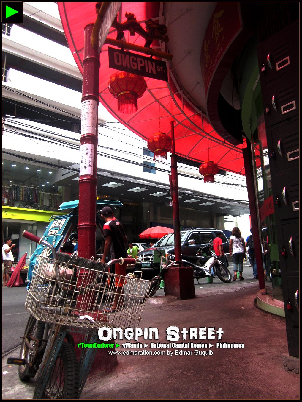 ONGPIN STREET, BINONDO