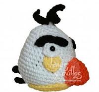 Angry Birds Rojo (amigurumi) a crochet. Patrón gratis en nuestro ... | 187x200