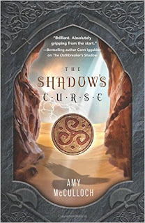 The Shadow's Curse by Amy McCulloch book cover