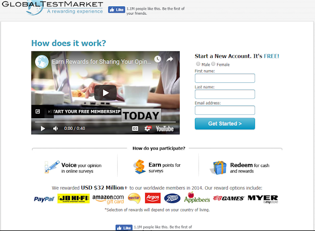 Global Test Market Survey - No Incent (HK)