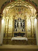Retablo de Cristo Crucificado, Colegiata de Santa Maria la Mayor