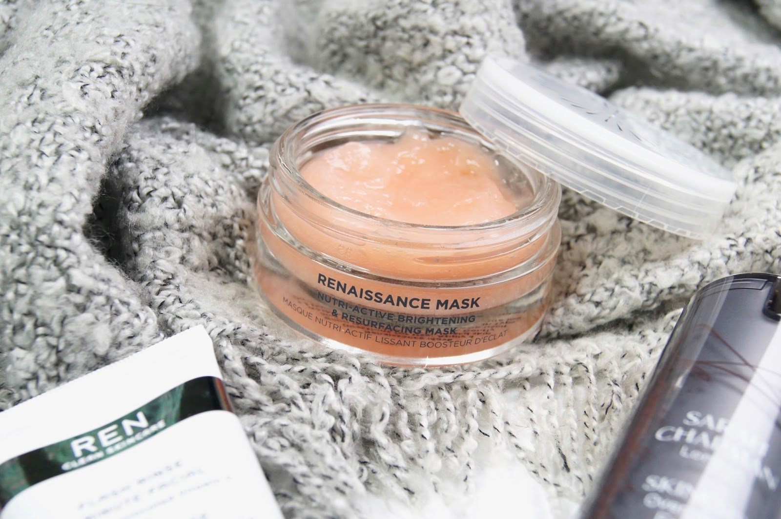 cosy night in routine pamper session clinique take the day off cleansing balm oskia renaissance face mask review