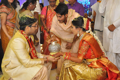 Producer-Rammohanrao-Daughter-Dedeepya-weds-Vishnu-Charan-Wedding1