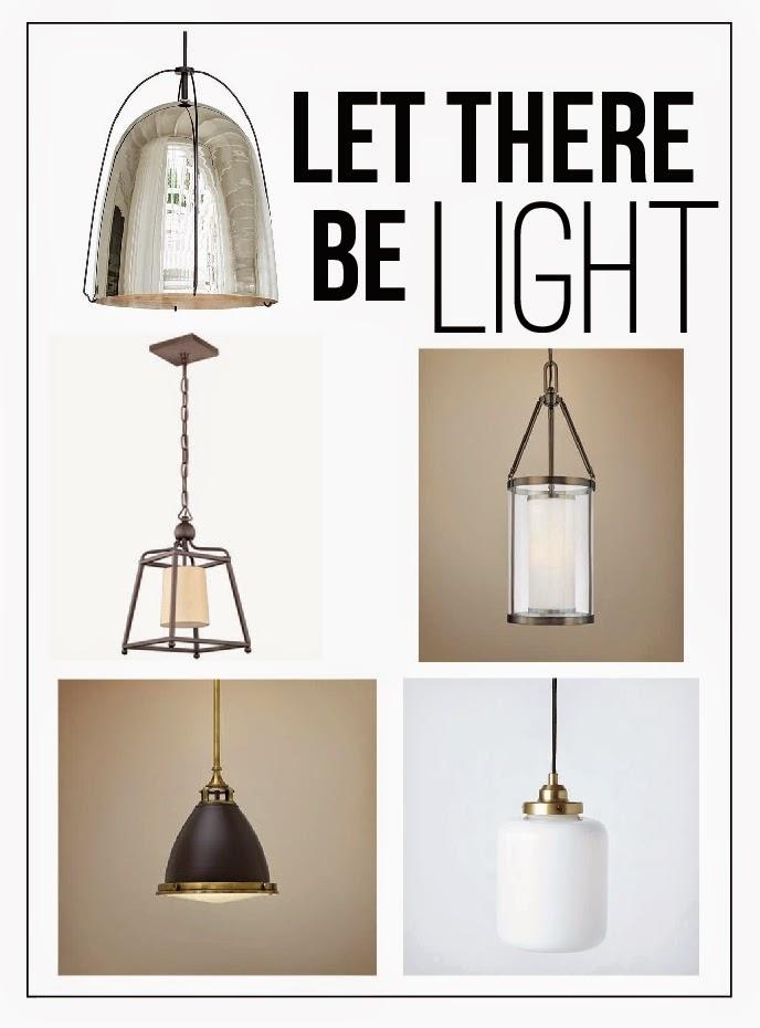 Coordinating Kitchen Lighting