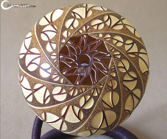 Calabarte, Spectacular Lamps Made with Pumpkins