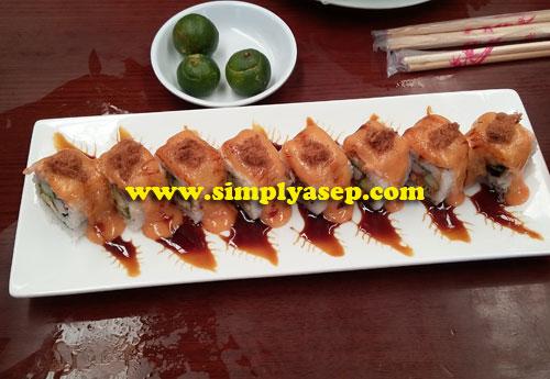 Sushi Pak Usu  Foto Asep Haryono
