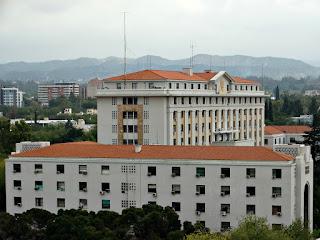 Casa de Gobierno de Mendoza (Vista do Terraza Jardin Mirador)