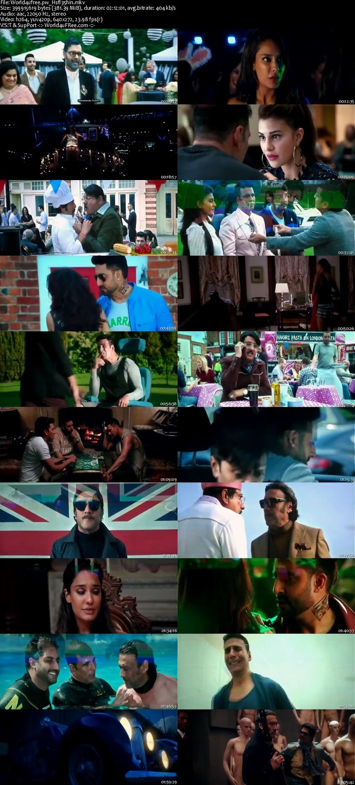 Housefull 3 HD Movie 2016 Free Download