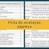 Modelo de Ficha de avaliação objetiva