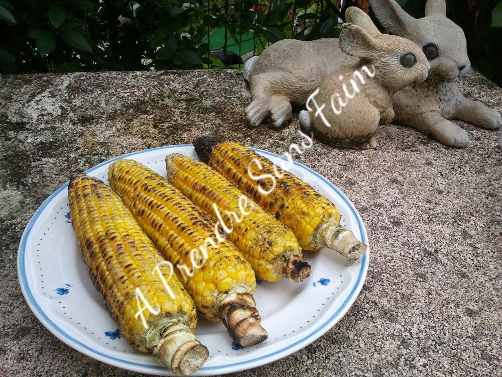 Maïs grillés au barbecue