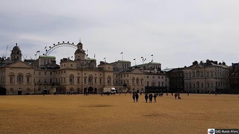Diário de Bordo - 5 dias em Londres - estábulos reais
