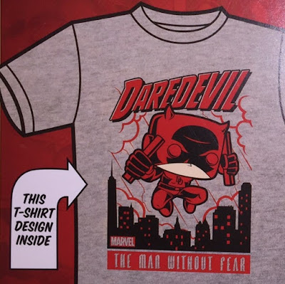 Target Exclusive Daredevil Pop! Tees Marvel T-Shirt by Funko